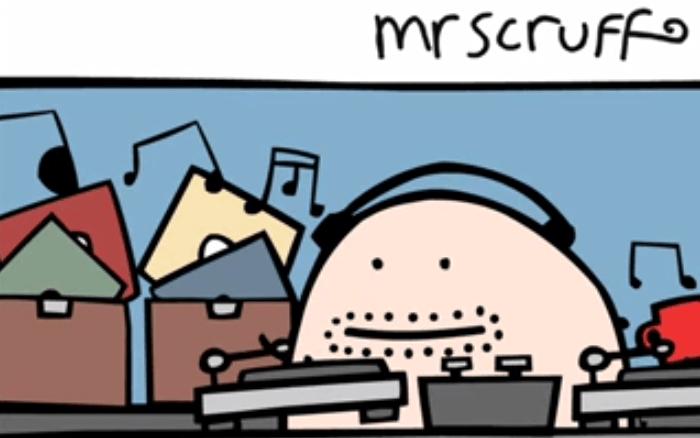 Mr Scruff 100% vinyl