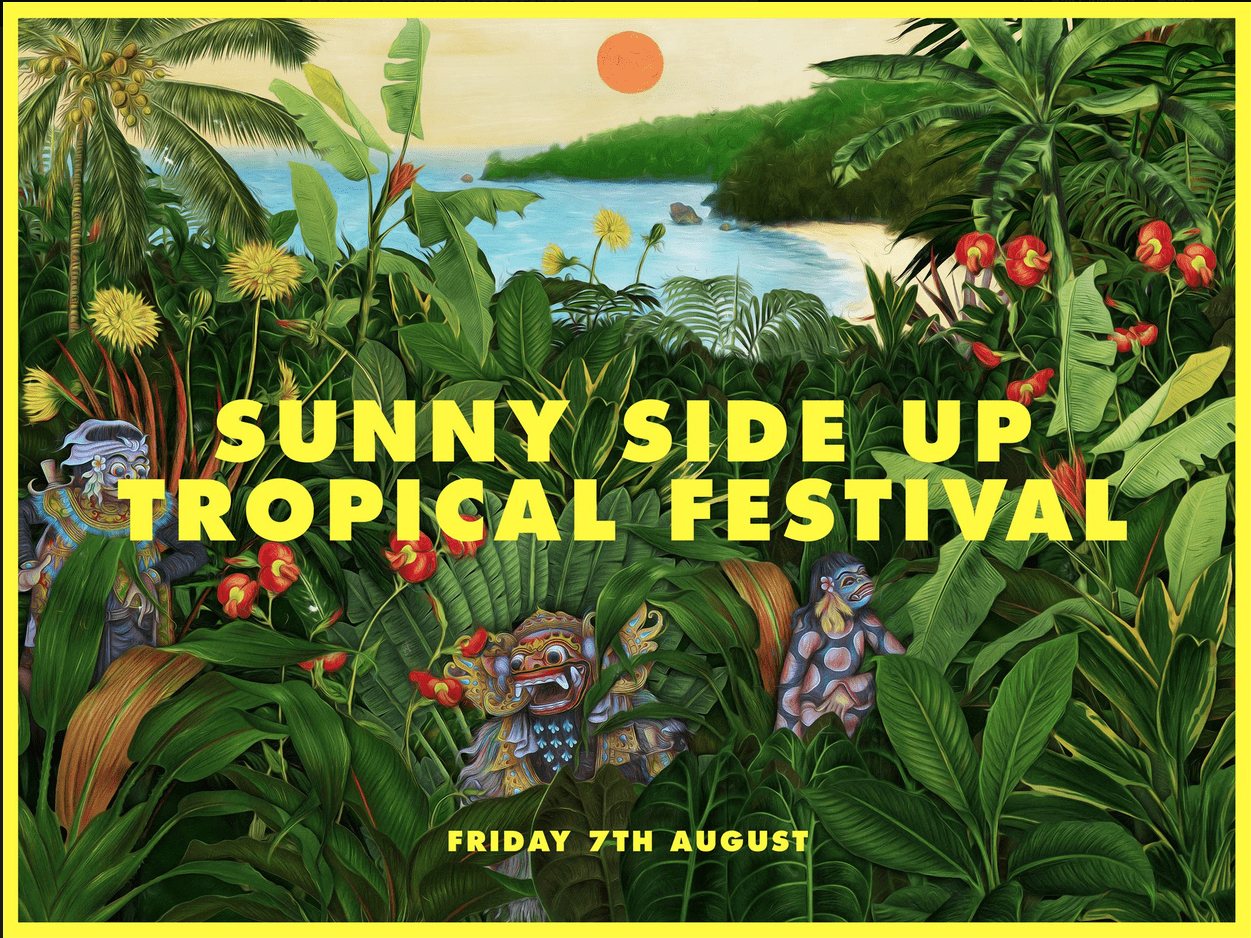Sunny Side Tropical Festival is back in 2015 with a new date.