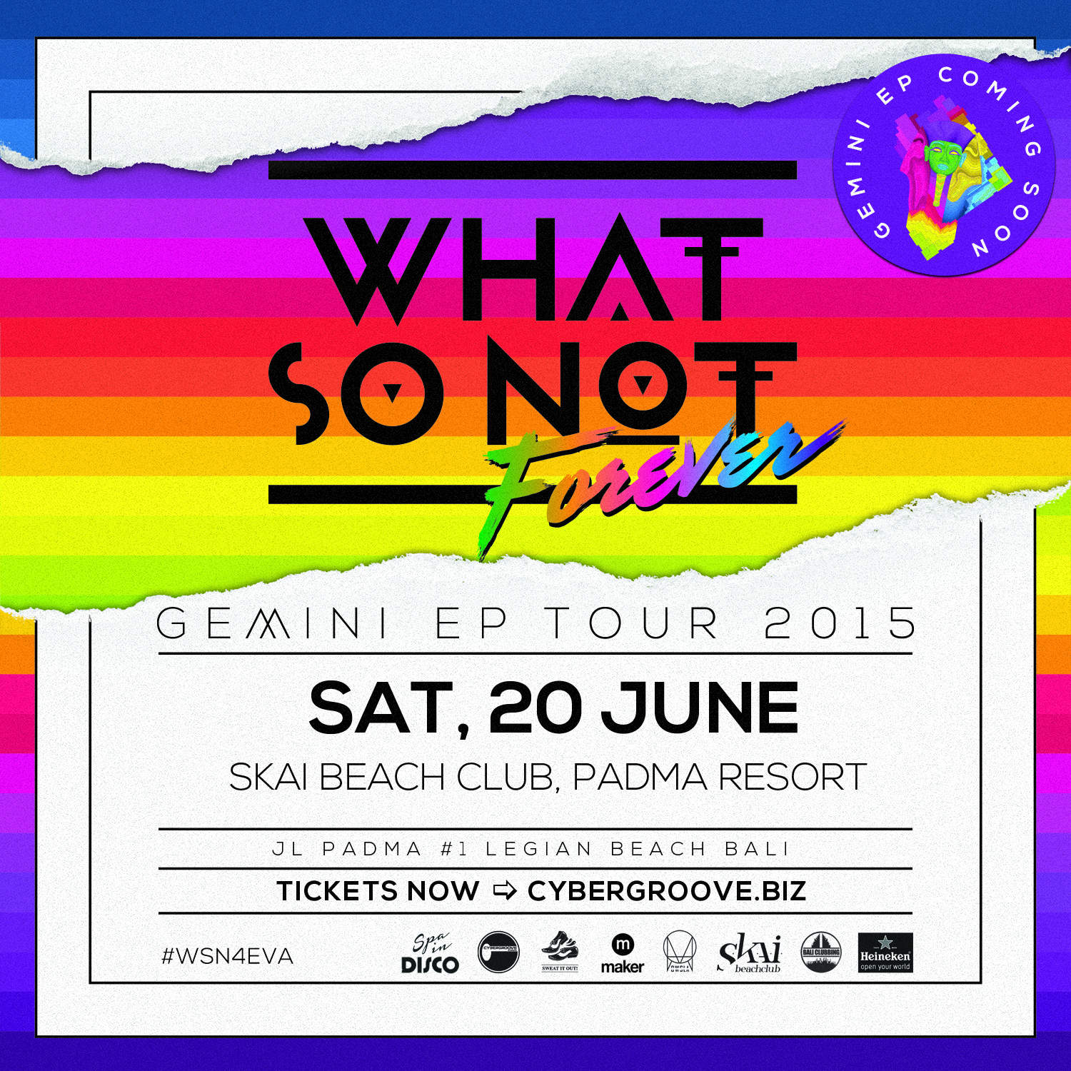WHAT SO NOT – SKAI BEACH CLUB JUNE 20