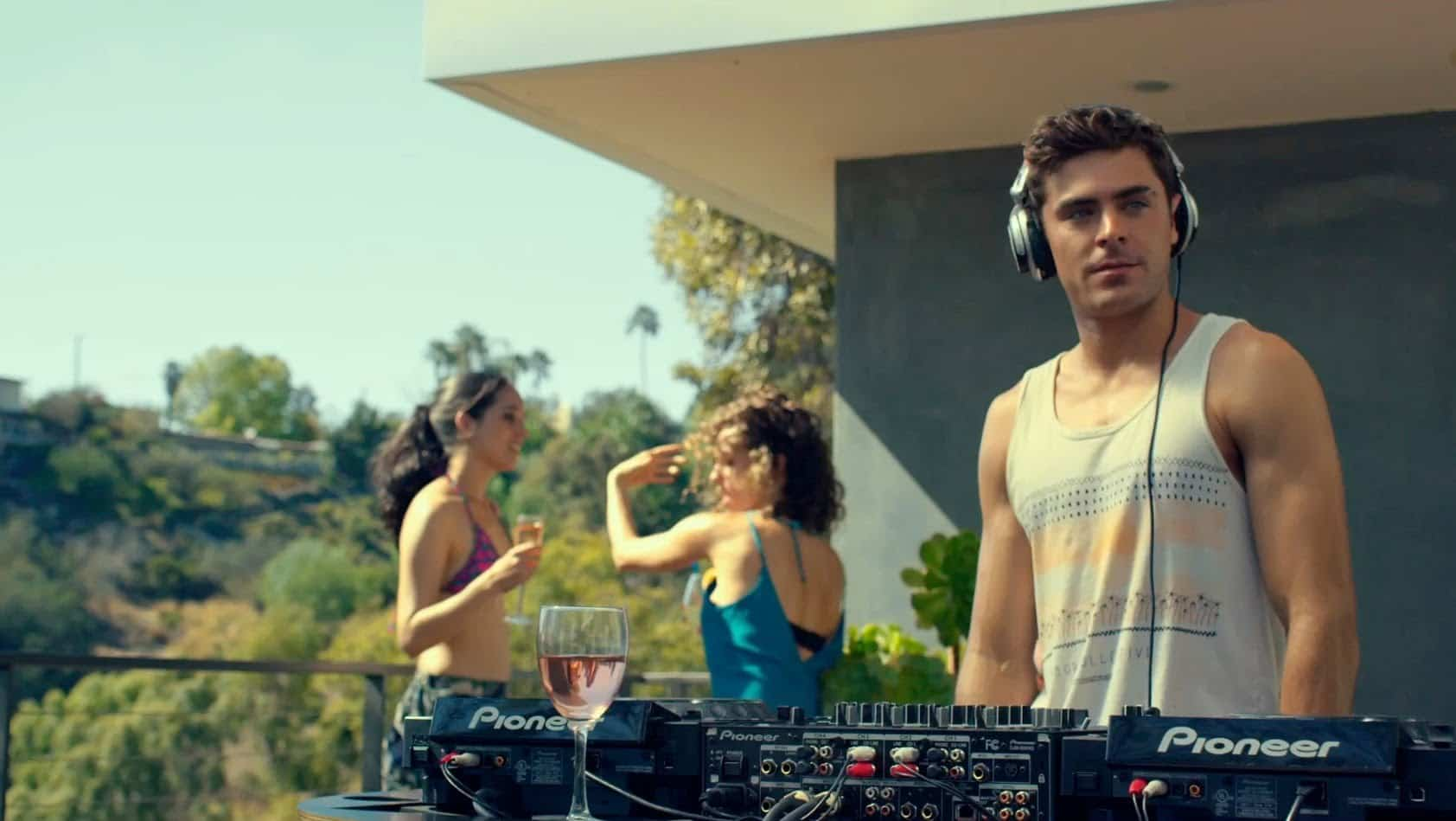 Zac Effron joins the DJ celebrity list! Please call the internet police