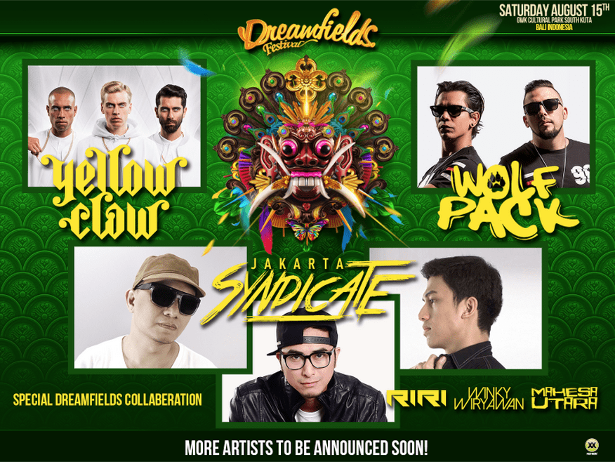 THE FINAL PIECES TO THE DREAMFIELDS PUZZLE BALI 2015