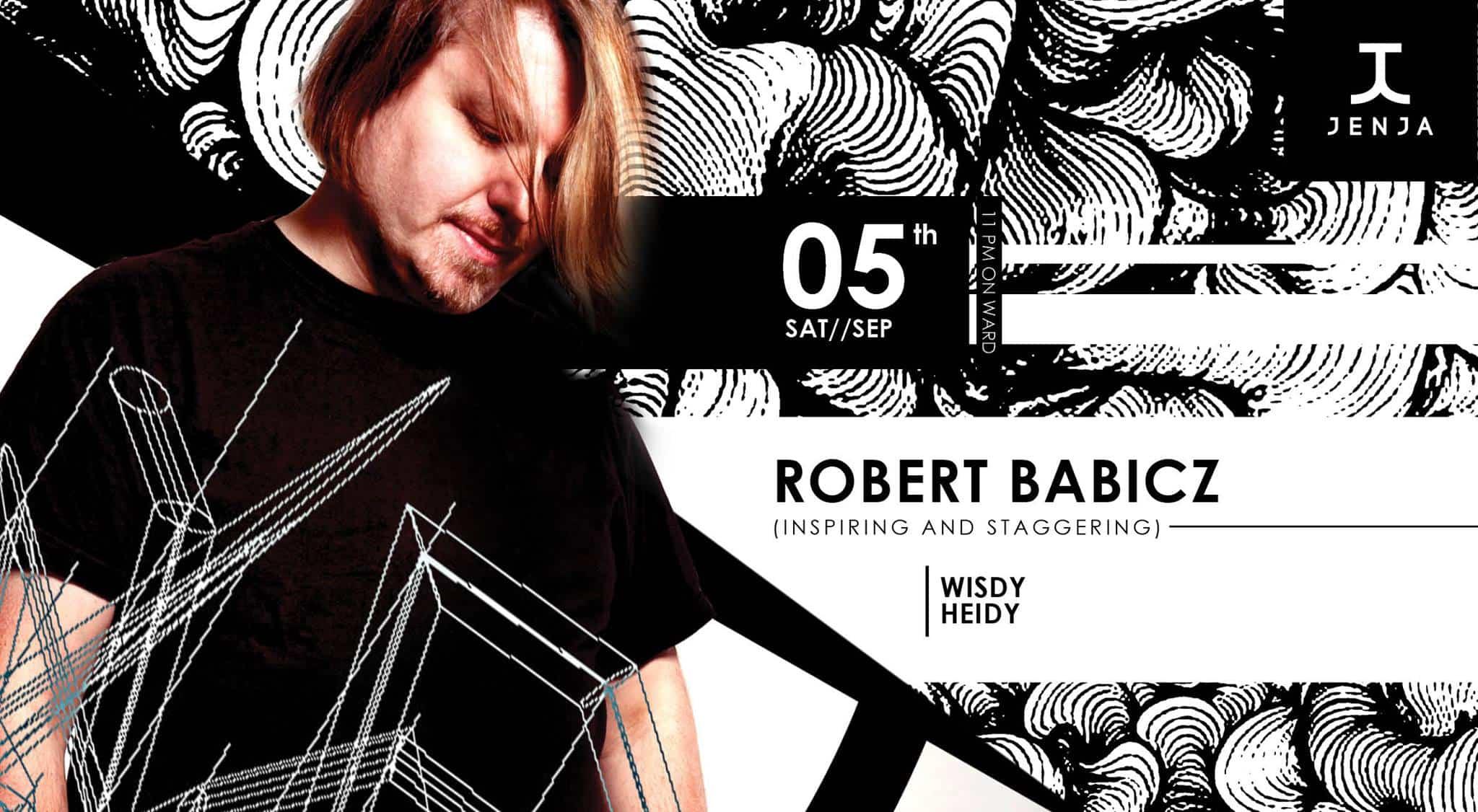ROBERT BABICZ AT JENJA