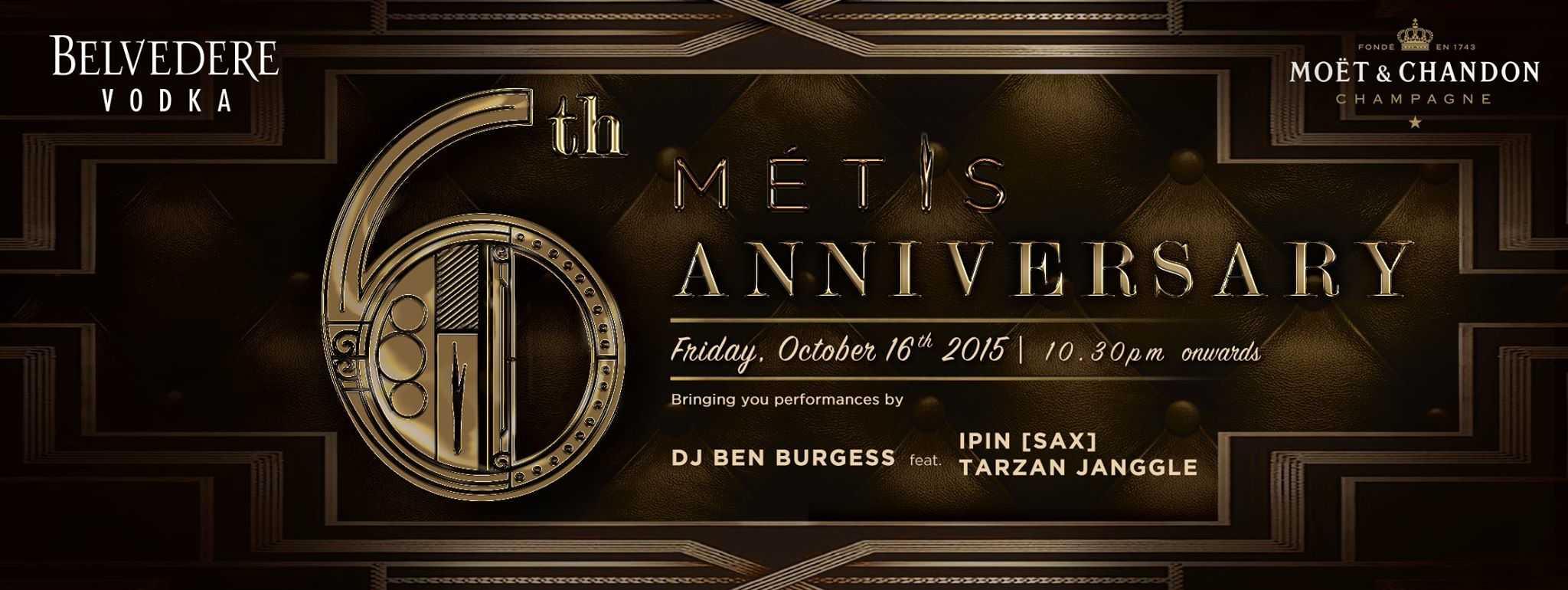 MÉTIS 6th Anniversary