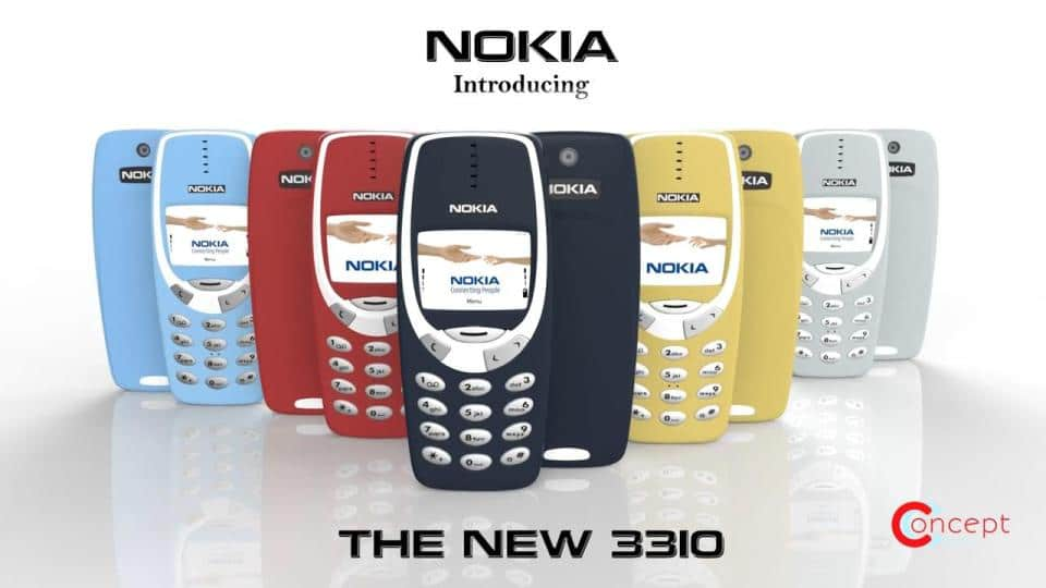 THE NEW – NOKIA 3310