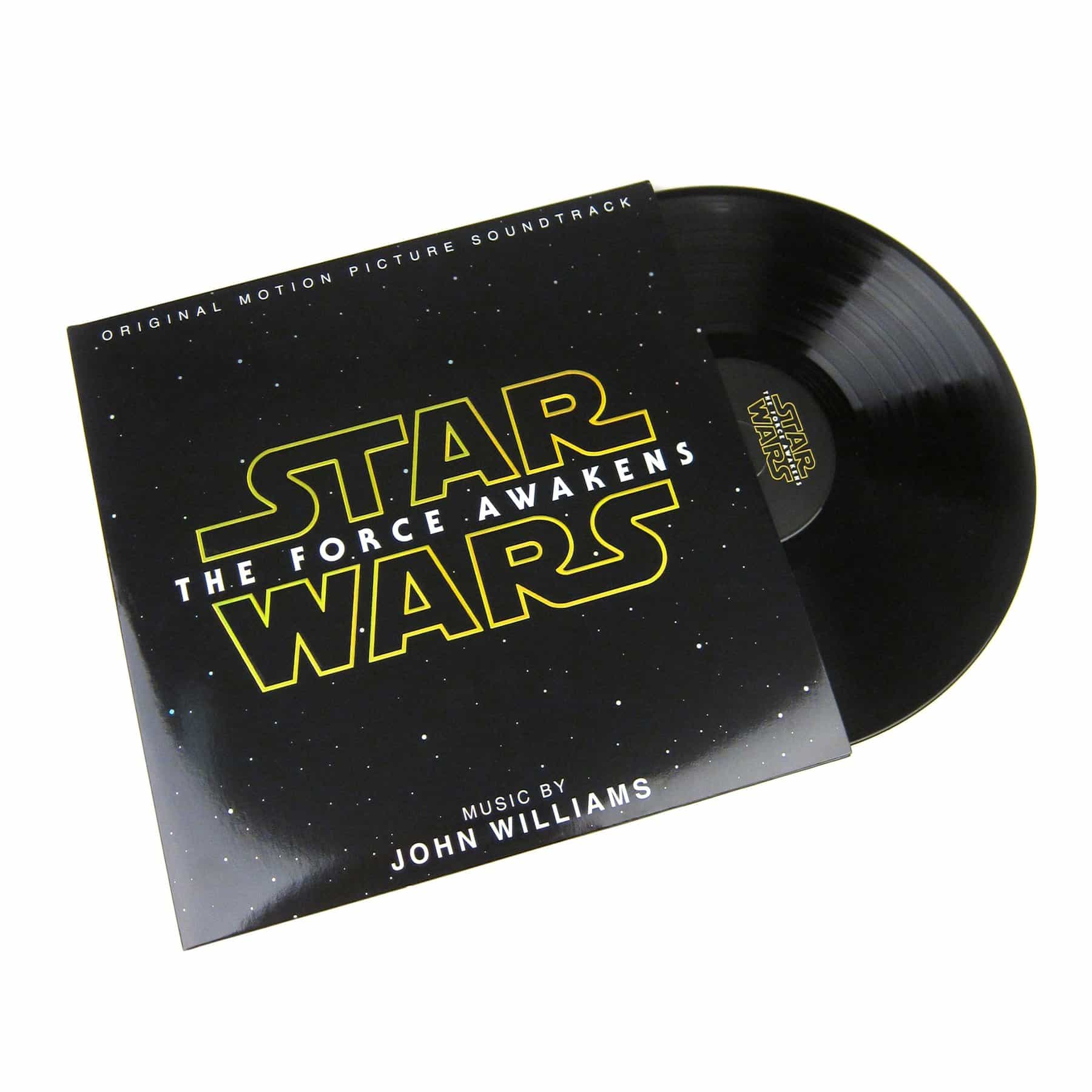 'STAR WARS' VINYL PROJECTS HOLOGRAMS WHILE PLAYING MUSIC