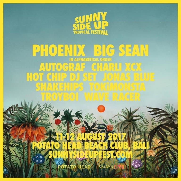SUNNY SIDE-UP TROPICAL FESTIVAL
