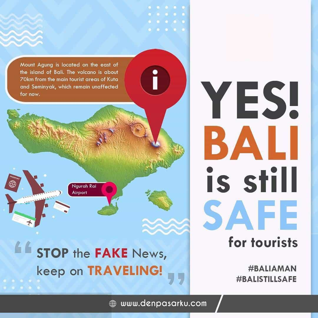 BALI STILL SAFE