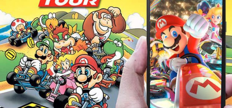 BRACE YOURSELF ( & YOUR PHONE) MARIO CARTS IS COMING.