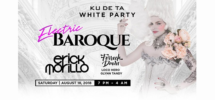 KDT WHITE PARTY ELECTRIC BAROQUE