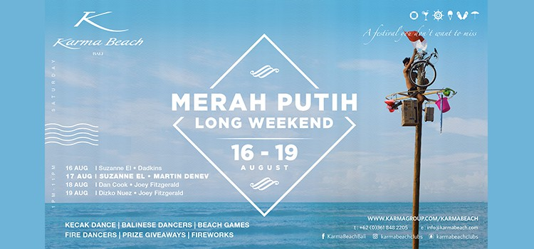 MERAH PUTIH LONG WEEKEND