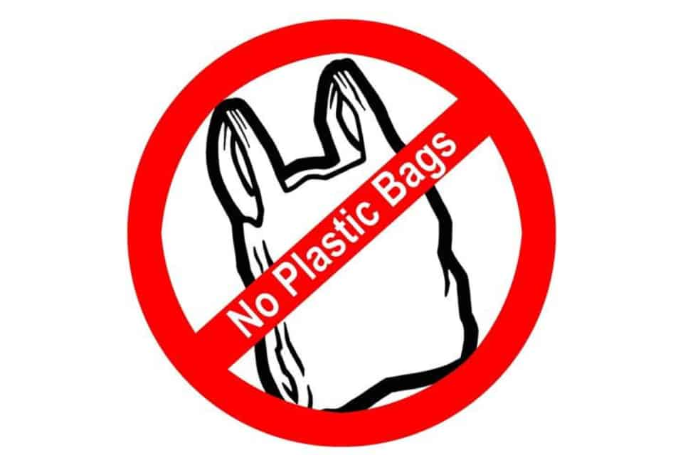 NO PLASTIC BAG IN 2019