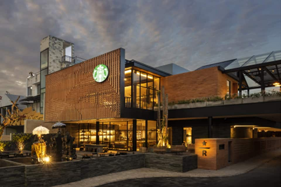STARBUCKS OPEN NEW MEGA-STORE ON SUNSET ROAD