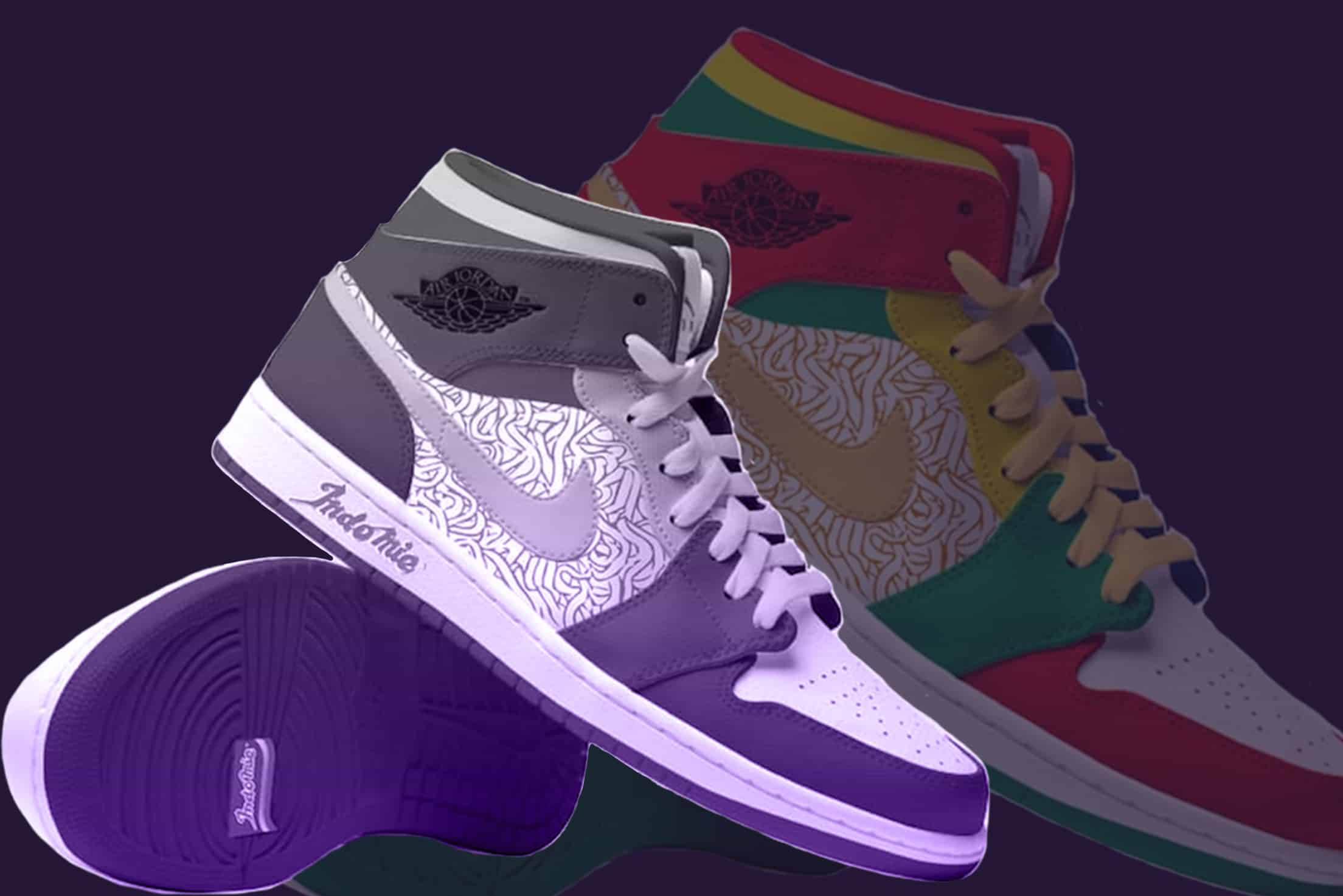 NIKE – MEETS INDOMIE IN FAN- MADE AIR JORDAN DESIGN