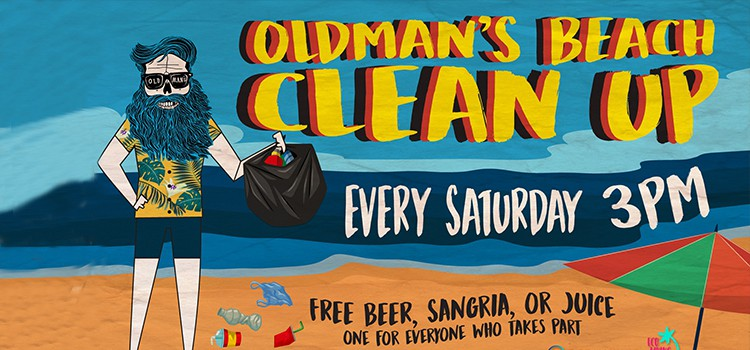 OLD MAN'S BEACH CLEAN UP