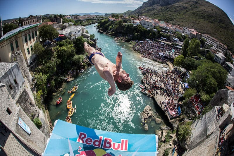 RED BULL CLIFF DIVING EVENT WILL BE HELD ON NUSA PENIDA