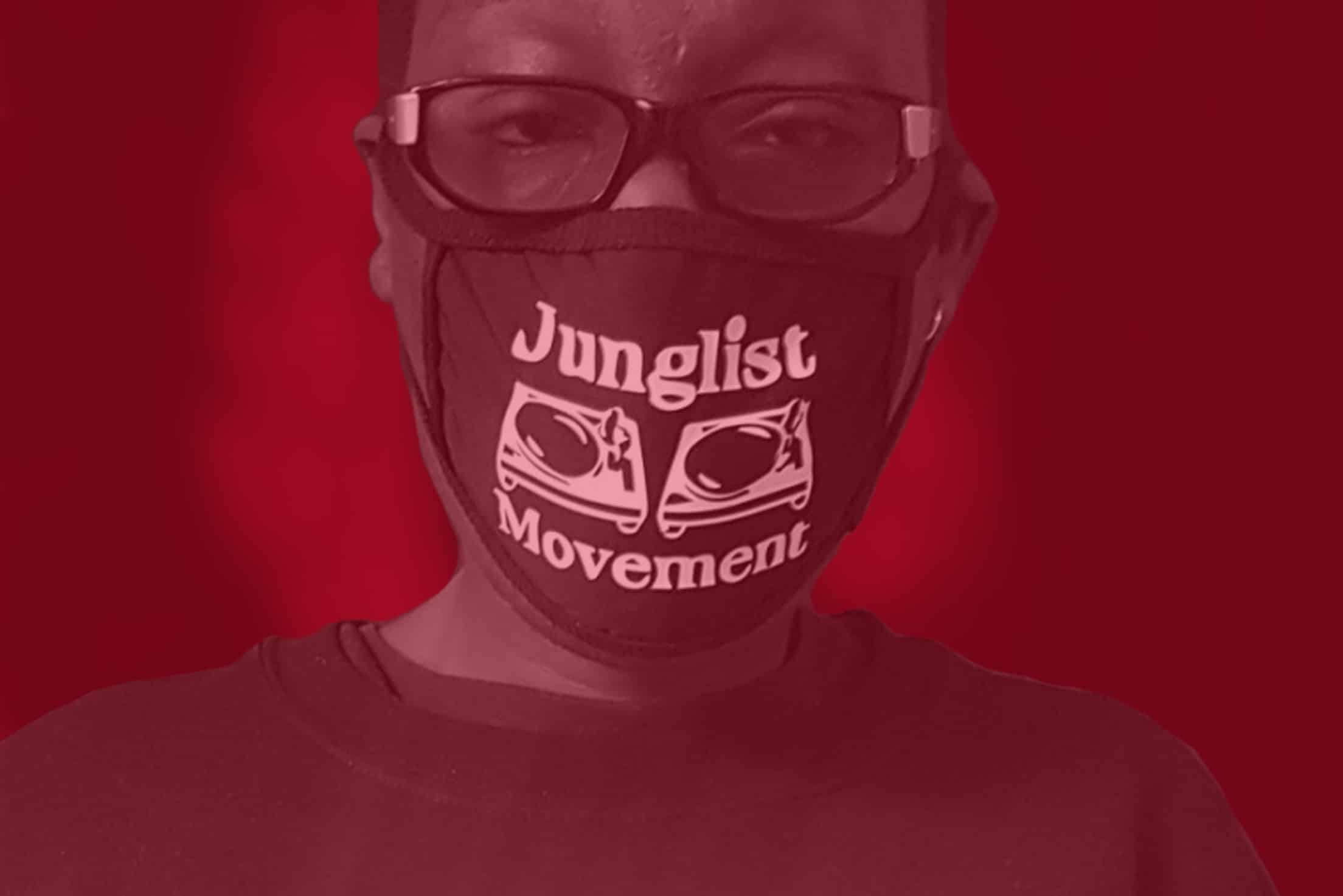 JUNGLIST MOVEMENT FACE MASKS CROWDFUNDER LAUNCHED TO RAISE MONEY FOR NHS
